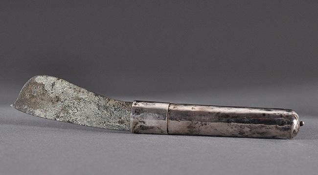 Betel-knife silver