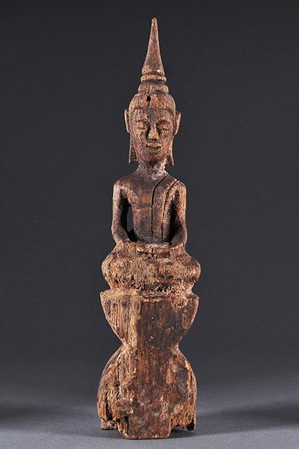 Buddha, wood, Laos