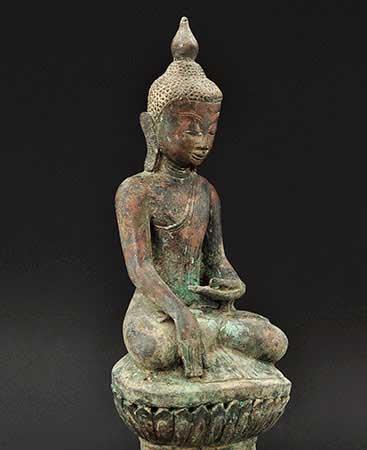 Shan Buddha, Ava (Burma)