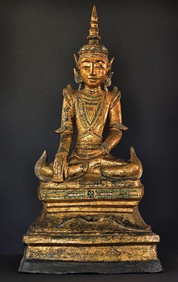 Buddha, Tai Yai, Shan, Burma