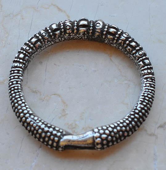 Burmese Silver bracelet
