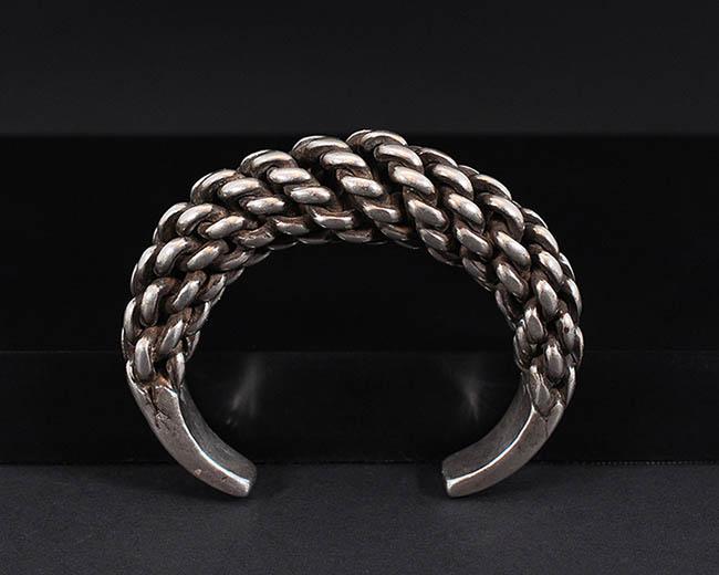 Silver bracelet (Laos)