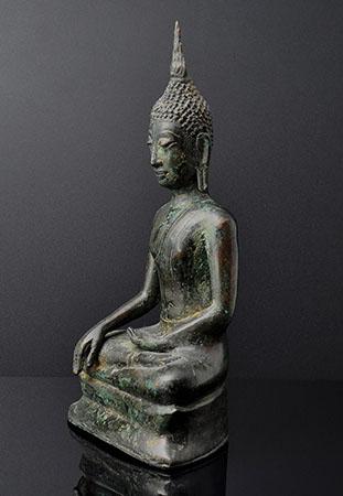 Buddha, U Thong Style, Ayutthaya